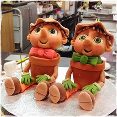 #fmsphotoaday #frommychildhood ... When I   was very young children's TV was very limited! In fact not all households had a TV I was 5 years old before we had one in our home.  Bill and Ben the #flowerpot men were firm favourites of mine then. They first