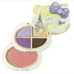 Hello Kitty Sanrio Sephora Eyeshadow and Blush Palette PARIS New