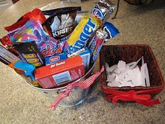 Candy Bridal Shower Game. i love this! i did this for a baby shower... i hope i have this at my shower one day ;)
