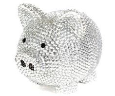 I want to bling out a piggy bank -- like this one! Toys R Us Kids, Pig Bank, Piglet, War Pigs, Personalized Piggy Bank, Cute Piggies, Flying Pig, Pink Room, Star Spangled