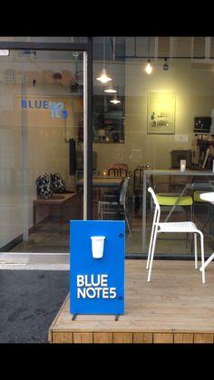 입간판 Small Cafe, Lp Vinyl, Shopping Mall, Letter Board, Signage, Display, Lettering, Coffee, Blue
