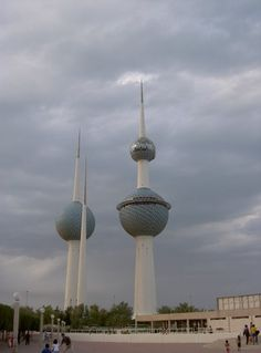 Water towers, Kuwait