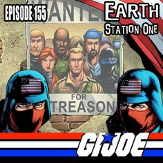 Join us for yet another episode of The Earth Station One Podcast we like to call: YO JOE!!!! at www.esopodcast.com