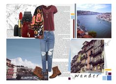 """""""Wander."""" by cece-cherry ❤ liked on Polyvore featuring Anja, MAC Cosmetics, Nixon, Vince Camuto, Object Collectors Item, Topshop, H&M and Steve Madden"""