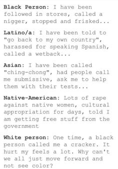 All our history, yours was once in a life time. -Sincerely, a Latina