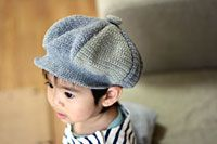 How do they get the kid to wear it? Every little I've met or seen swipes a hat off asap! Crochet Motif, Crochet Baby, Knit Crochet, Wearing A Hat, News Boy Hat, Baby Knitting, Baby Items, Free Pattern, Diy And Crafts
