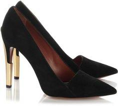 Calvin Klein Collection Black Ani Bis Pumps on shopstyle.com