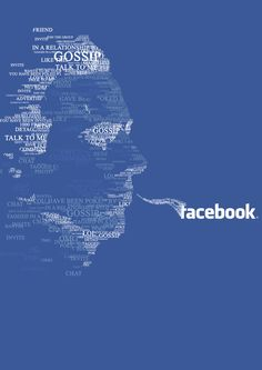 facebook typography art