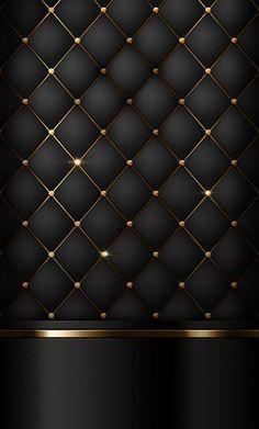 Black and gold doors in 2019 black phone wallpaper, gold wallpaper, c Bed Headboard Design, Bedroom Bed Design, Headboards For Beds, Bedroom Decor, Black Phone Wallpaper, Cellphone Wallpaper, Iphone Wallpaper, Gold And Black Wallpaper, Luxury Wallpaper