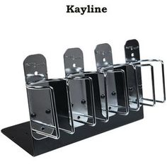 Get the perfect clipper organizer for your workspace with the Kayline Universal Clipper Holder. It holds most clippers including the large bodied Model 10 or Os Barber Accessories, Barbershop Design, Barbershop Ideas, Barber Clippers, Barber School, Barber Shop Decor, Barber Chair, Salon Design, Beauty Shop
