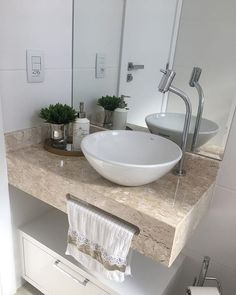 Small Bathroom Sinks, Bathroom Interior Design, Small Bathroom Decor, Smart Home Design, Small Bathroom Plans, Modern Bathroom Decor, Bathroom Design Luxury, Bathroom Decor, Washbasin Design