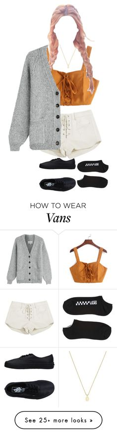 """""""Oh Hey!"""" by aveom on Polyvore featuring Mlle Mademoiselle, Gucci, Maison Margiela and Vans"""