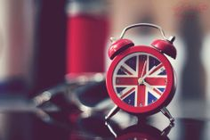 Union Jack alarm clock (British flag)