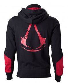 Assassin's Creed Rogue Black Hoodie reverse