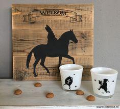 Welkom Sinterklaas houten bord