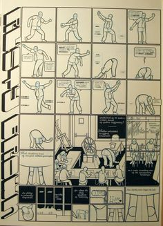 Mr Ware Contrapposto by Chris Ware - Comic Strip