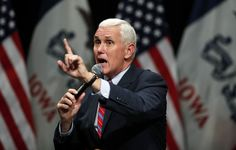 Group accuses Mike Pence of voter suppression after state police raid registration program in Indiana