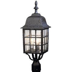 Oakhill Aluminum Outdoor Post Lantern