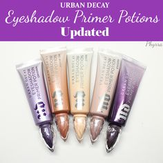 Urban Decay Eyeshadow Primer Potions - Original, Eden, Enigma, Minor Sin, Anti-Aging