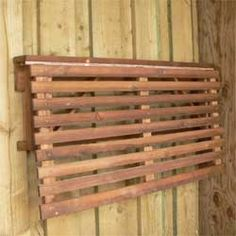 Another Fold Down Potting Shelf. Http://www.recycleworks.co.