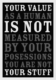 nor is your value measured by the shape/size of your body. We all want to have a great body, but a healthy body is more important!~