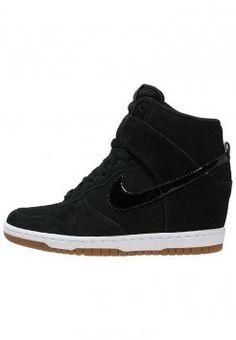 Nike Sportswear - DUNK SKY ESSENTIAL - Sneakers high - black/sail/medium brown