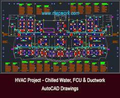 Vav Project Drawings Autocad Drawings For Vav Hvac