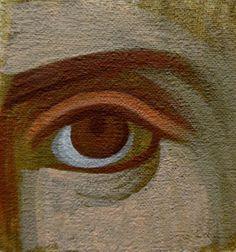 Μάθημα αγιογραφίας (δεύτερο μάθημα, πως κάνουμε το μάτι)