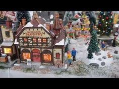 Lemax Village Shop Display: 100% Raw material - YouTube
