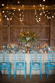 beautiful barn wedding design