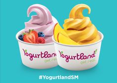 "Are you thinking to give a special yummy treat to your friends ? We suggest you the right place ""Yogurtland"". Visit our store and enjoy."