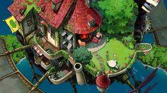 [스튜디오 지브리 일러] 하울의 움직이는 성 {ハウルの動く城: Howl's Moving Castle, 2004}   KEY를 사랑하는 어느 번역가의 환상향