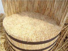 thinking design differently: seats out of rice straw | Harsh Forms