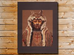 Native American Portrait Kirby Sattler by KirbySattlerPrints