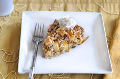 Holiday: Apple Pie Baked Oatmeal