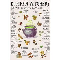 Kitchen Witchery What is your favorite way to use witchcraft in the kitchen? Magick Spells, Wiccan Witch, Wiccan Spells Love, White Witch Spells, Hoodoo Spells, Moon Witch, Wicca Witchcraft, Religion Wicca, Witch Religion