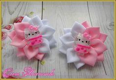Одноклассники Ribbon Art, Ribbon Hair Bows, Lace Bows, Diy Hair Bows, Diy Bow, Nurse Crafts, Easy Crafts, Diy And Crafts, Ribbon Embroidery Tutorial