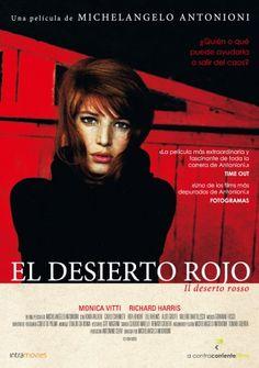 Desierto rojo (1964) Italia. Dir: Michelangelo Antonioni. Drama. Enfermidade - DVD CINE 917