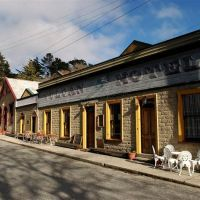 The Vulcan Hotel in St Bathans, New Zealand in 2003. Photo by Craig Baxter.