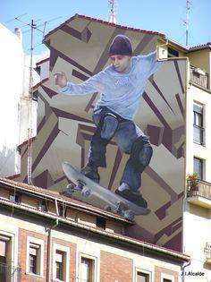 Street Art in Bilbao. Photo by Manu Ramos