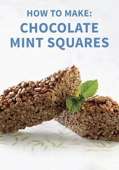 Treat yourself to something sweet with this easy recipe for Chocolate Mint Squares. Add marshmallows, vanilla, cocoa powder, and peppermint to Rice Krispies® cereal to create this tasty no-bake dessert. Your whole family is sure to love these yummy Rice Krispies Treats®.