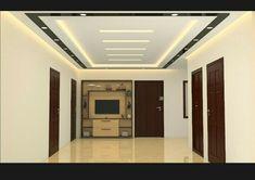 Simple False Ceiling Design, Gypsum Ceiling Design, Interior Ceiling Design, House Ceiling Design, Modern Home Interior Design, Ceiling Light Design, House Design, Fall Ceiling Designs Bedroom, Living Room Lighting Design