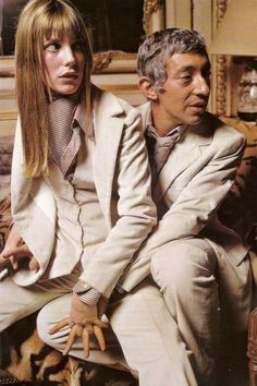 COUPLE DE LEGENDE : Jane BIRKIN et Serge GAINSBOURG / RENCONTRE / E...