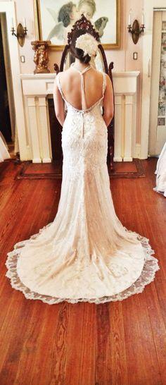 New, beautiful, fully-beaded, stunning Sottero & Midgley in store! #beautiful #unique #bridal #wedding