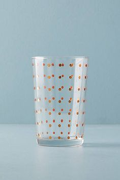 Dotted Juice Glass
