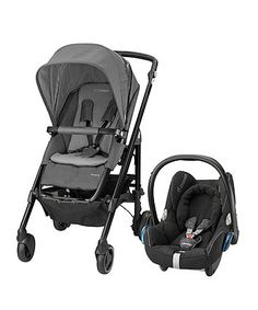 offering comfort for both you and your baby, this Maxi-Cosi travel system is all you need for every journey from birth