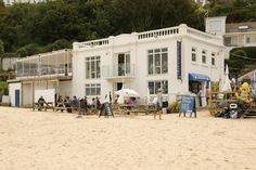 Porthminster Beach Restaurant St. Ives Cornwall Picture taken by Kernow photography