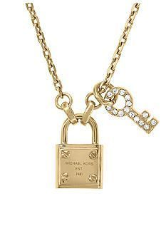 >>>Michael Kors OFF! >>>Visit>> Michael Kors Jewelry Gold Tone Lock and Key Necklace Emo Fashion, Runway Fashion, Fashion Models, Spring Fashion, Fashion Tips, Rock Fashion, Fashion Outfits, Fashion Designers, Korean Fashion