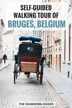 A Self-Guided Walking Tour Of Bruges, Belgium