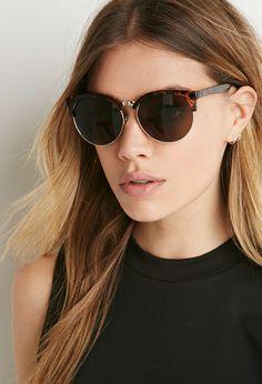 d8ec1ed2f6d Tortoiseshell Browline Sunglasses
